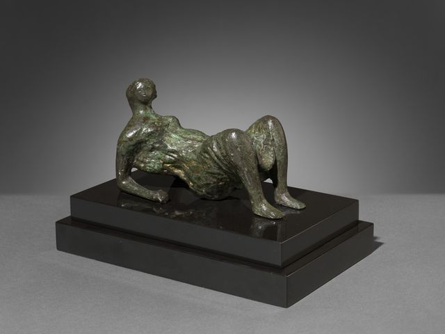 Maquette for Draped Reclining Figure Henry Moore : reclining figure by henry moore - islam-shia.org