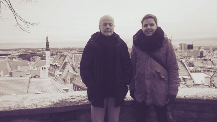 In Tallinn together with my father #day25of365