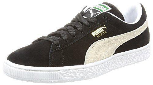 Puma Suede Classic+, Baskets Basses Mixte Adulte, 44 EU: Matériau supérieur en velours confortable. Perforations pour plus de…