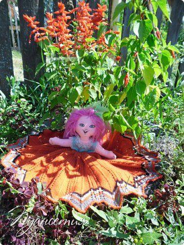 Игрушка Куклы Шитьё  Кукла - позитивчик Ткань фото 1