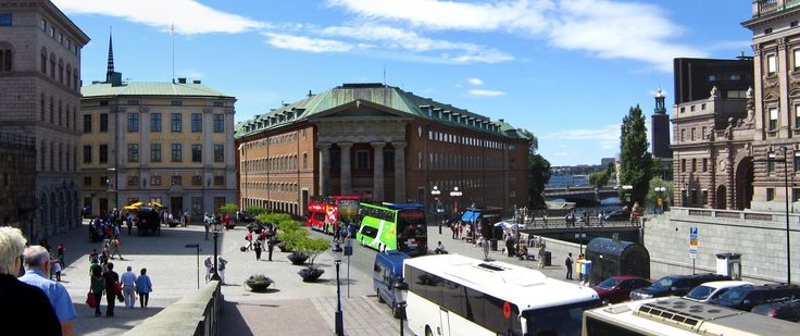 at the Old Town or Gamla Stan