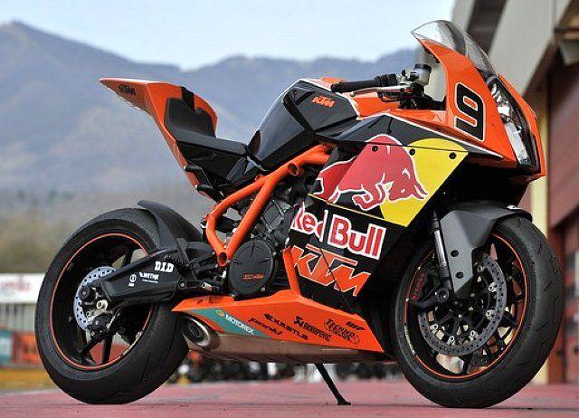 KTM RC8 R Red Bull