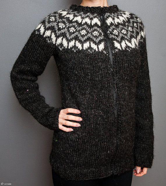 Icelandic Lopi Cardigan by unneva on Etsy, $200.00