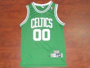 Boston Celtics NBA Green #00 Robert Parish Jersey [F322]