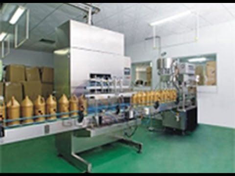 linear 6 heads filling machine full automatic screw capping rotary with ...