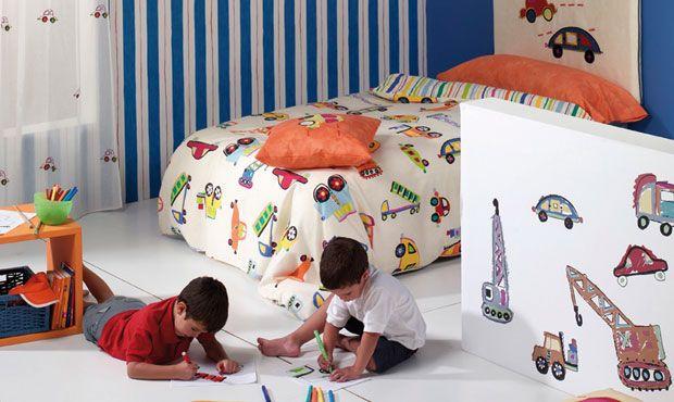 128 mejores im genes sobre decoraci n habitaci n infantil - Textil habitacion infantil ...
