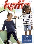 Tijdschrift Kinderen 81 Lente / Zomer   34: Kinderen Trui   Wit / Licht
