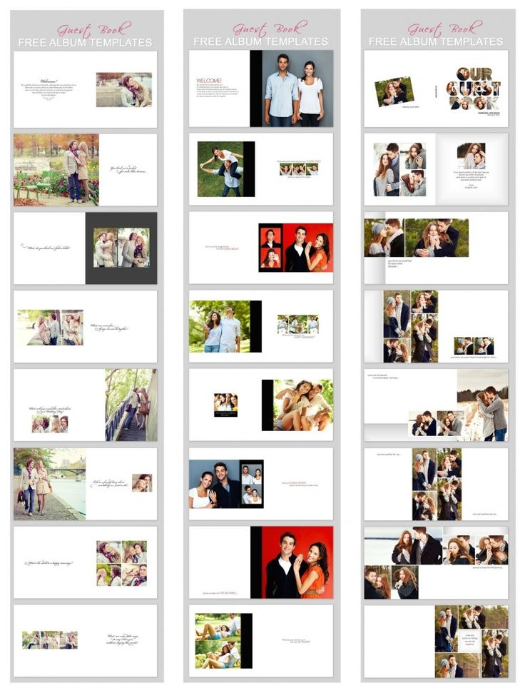 Best Geust Book Template Images On   Guestbook Ideas