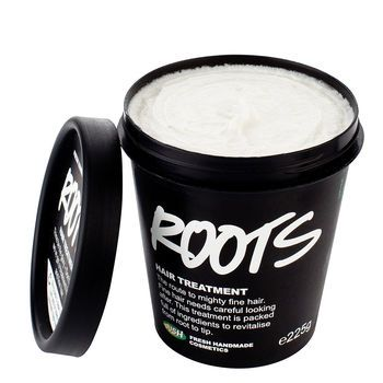 Why have I never heard of 'Lush'? Natural hair care products for thin/fine hair? Yes please!