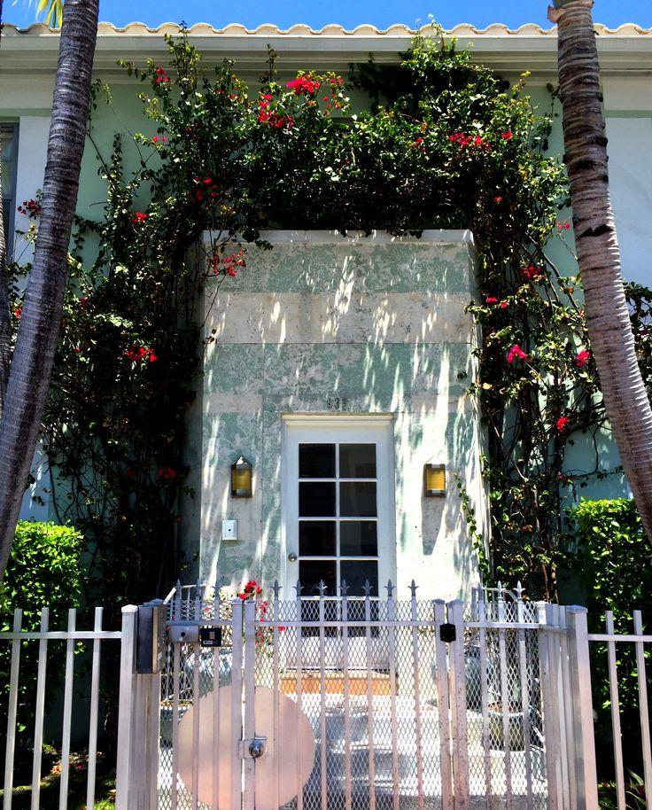 Miami Beach Art Deco treasure #bougainvillea #southbeachliving #realestate #addressmiami #artdeco