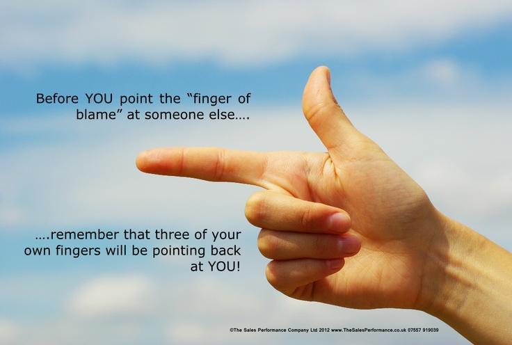 Finger of Blame Poster