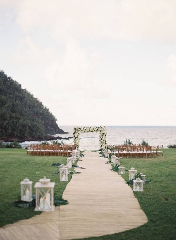 Get married in paradise at this waterfront Travaasa Hana wedding venue.