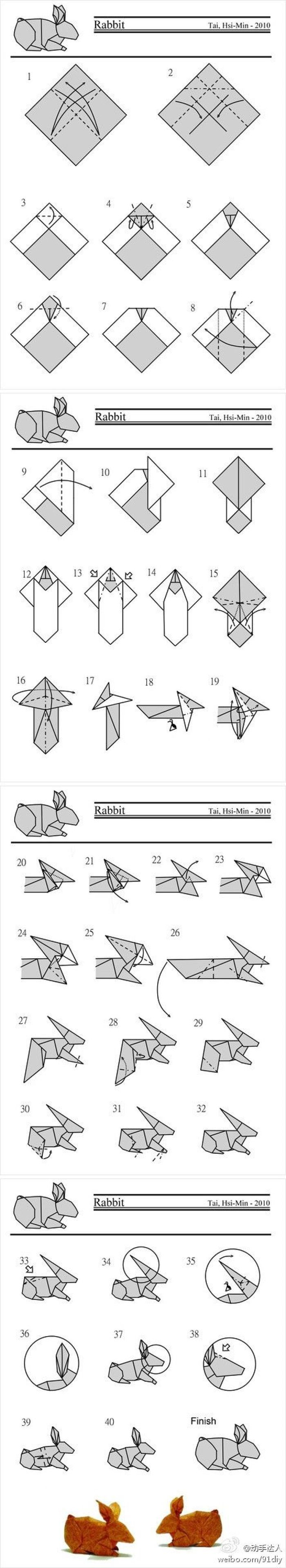 2258 Best Origami Images On Pinterest Animals Parrotdiagram By Barth Dunkan Ecorigami Find This Pin And More Donna Hardy