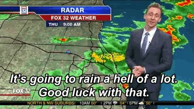 And his delivery was perfect. | Tom Hiddleston Reported The Local Weather As Loki And It Was Perfect
