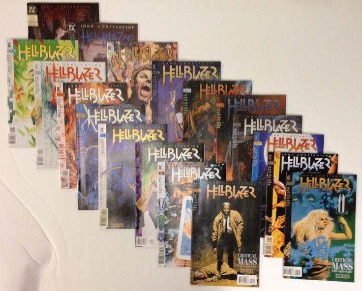 Hellblazer John Constantine High Grade Lot of 18 DC / Vertigo Comic Books - FOX TV Show