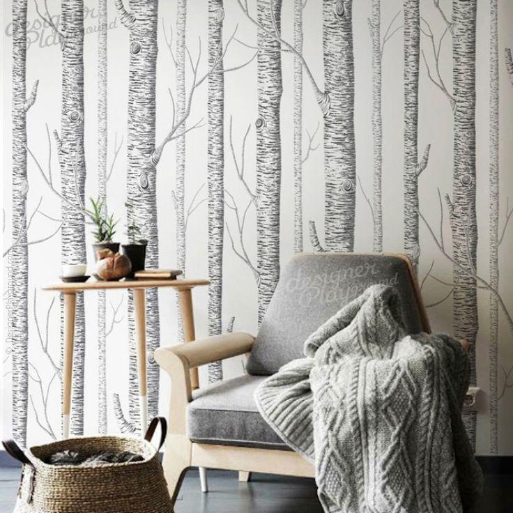 Top 25+ Best Birch Tree Wallpaper Ideas On Pinterest