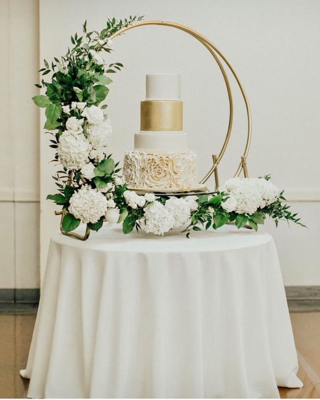 Be Cool To Do A Mini Arch To Match The Actual Arch Wedding Menu In 2018 Pinterest Wedding Wedding Decorations And Wedding Flowers Vintage Wedding Centerpieces Wedding Cake Table Wedding Cake Display