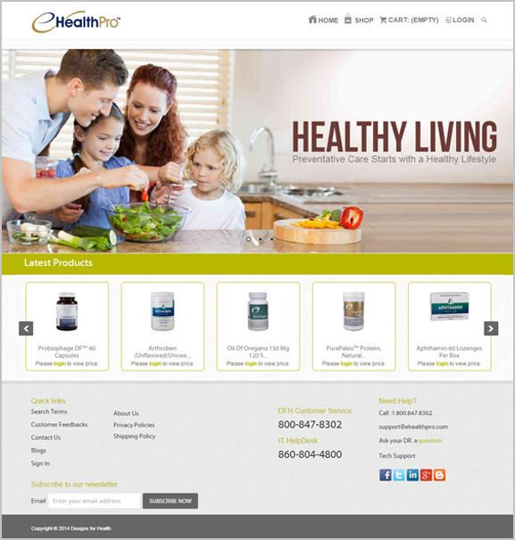 eHealthPro Marketing Application bring out next generation e-commerce platform that will ensure timely and quick turn around for patients in purchasing prescribed drugs