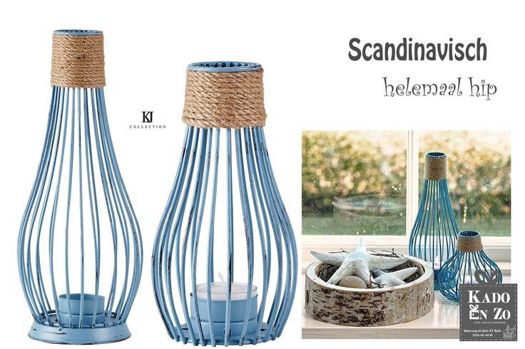 Helemaal hot en zeer gewild op dit moment zijn producten uit Scandinavië.  Neem b.v. deze prachtige lantaarns.  Is Scandinavisch wonen jouw stijl?
