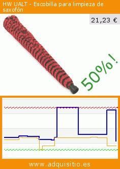 HW UALT - Escobilla para limpieza de saxofón (Electrónica). Baja 50%! Precio actual 21,23 €, el precio anterior fue de 42,46 €. https://www.adquisitio.es/hw/ualt-escobilla-limpieza