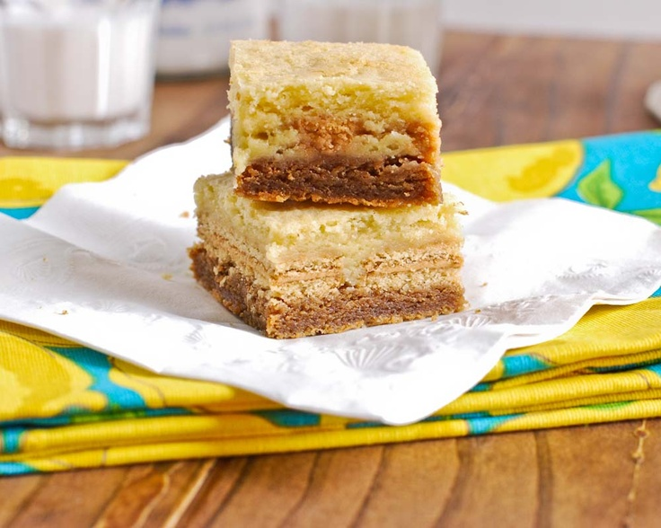 white chocolate double nutter butter blondies.: Chocolate Double, Butter Blondies Must, Chocolates, White Chocolate, Decadent Recipes, Nutter Butter White, Double Nutter, Favorite Recipes, Butter Blondies Omg