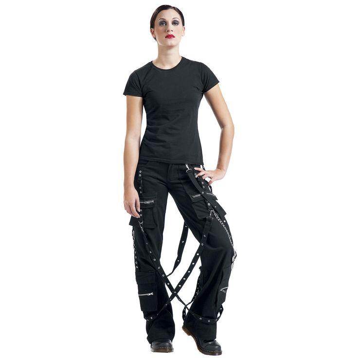 Stofbukser Alcatraz  »Rebelpant«   Køb nu hos EMP   Masser af Stofbukser Gotisk  fås online ✓ Stærke priser!
