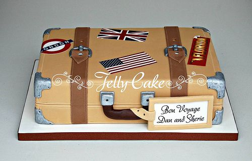How to Make Suitcase Cake | Recent Photos The Commons Getty Collection Galleries World Map App ...