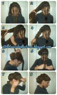 marley twists natural hair | Natural Hair Styles (mostly locs)