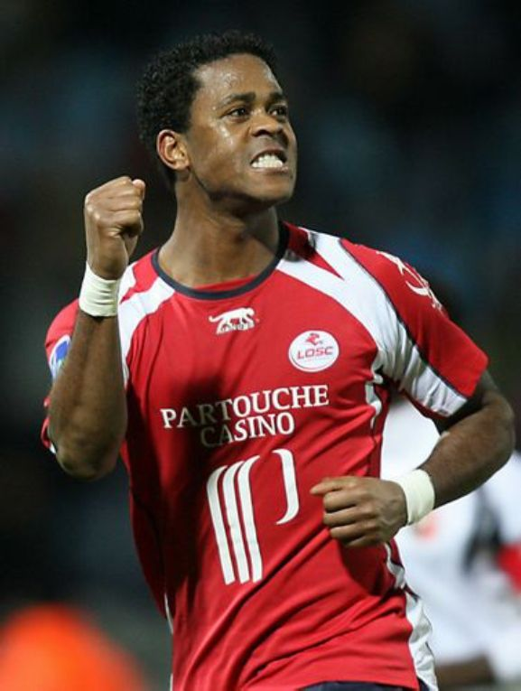 Patrick kluivert.  Lille