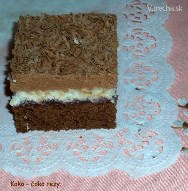 Koko-čoko rezy (fotorecept) - Recept