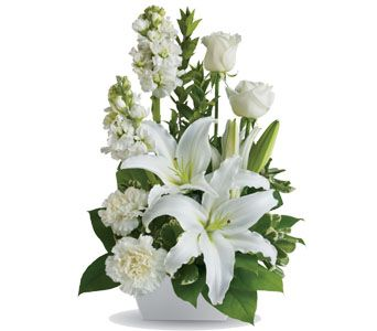 S23 a delightfully simple arrangement for the dearly departed and the perfect comfort for those in times of need and support