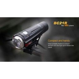 Fenix BC21R Rechargeable Bike Light (880 lumens)