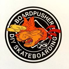 Go pick up the latest Thrasher Magazine and get this exclusive www.BoardPusher.com Custom Skateboards sticker.