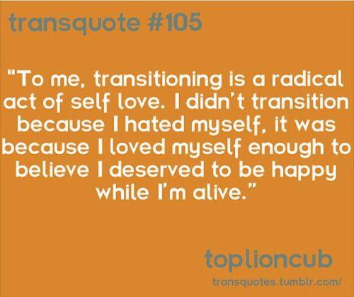 cooperxv: #selflove #loveyourself #life #transgender #transmale #ftm #mtf #happy #alive #transpride