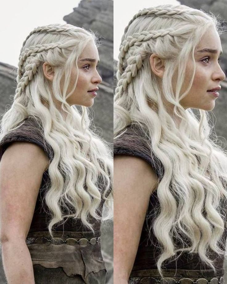 "Daenerys Targaryen (@daenerysmhysa) on Instagram: ""❤ . #gameofthrones #braids  #gameofthroneshbo #hbo #got…"""