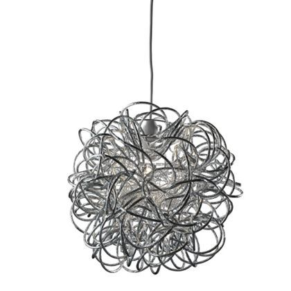 Messy Ball Easy Fit Pendant at Homebase -- Be inspired and make your house a home. Buy now.