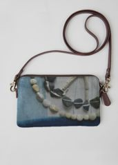 Statement Clutch - Crows b1 by VIDA VIDA