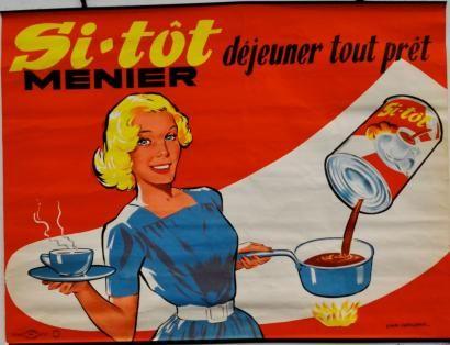 Si-Tôt Menier, déjeuner tout prêt - (Emmanuel Gaillard) -