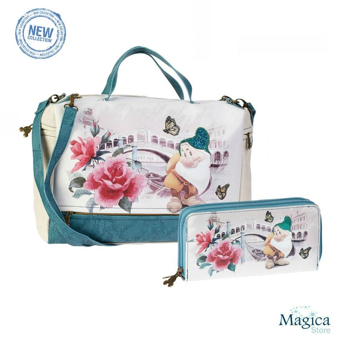 Womans Fashion Tuscany bag + purse 7 Dwarfs-Snow White-Bashful* New   Authentic* #Karactermania #Tuscanybag