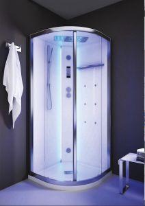 Grandform presenta White SPAce! La nuova cabina doccia multifunzione  Nella foto: White SPAce Cabina Doccia Multifunzione Vapor