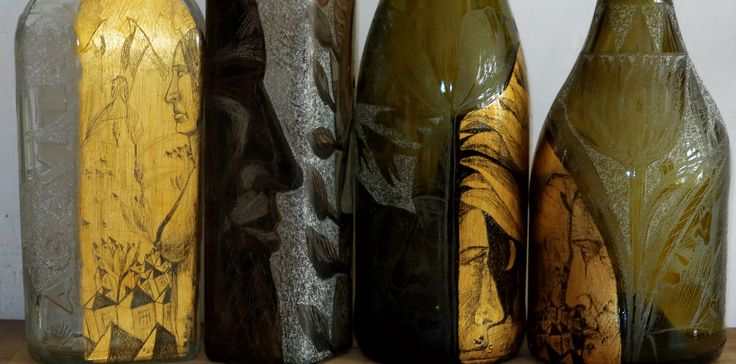 sticle gravate.schlagmetal gravat.culori fuziune