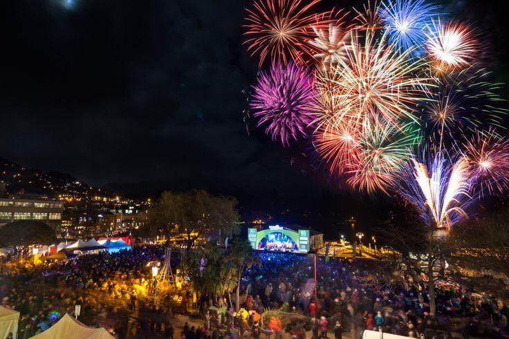 The American Express Opening Party #fireworks #winterstartshere #Queenstown #NewZealand #NZMustDo