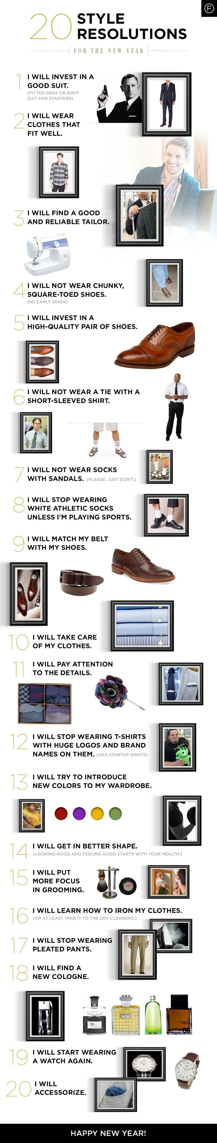 20 Style Resolutions for the New Year   Famous Outfits