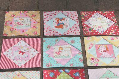 美しい小さなhandmades:甘い生活のキルトブロック