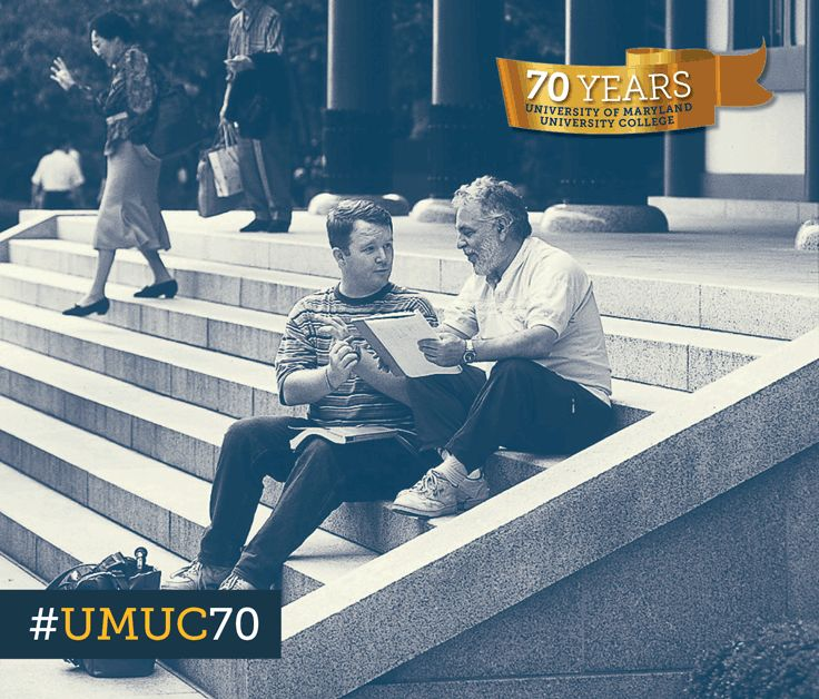 For today's #ThrowbackThursday, we take you to UMUC Asia where a faculty member assisted a student. By the time the Asian Division reached its 40th anniversary in 1996, more than 400,000 students had taken courses there. #umuc70