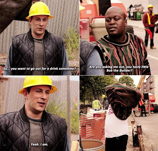 """Pin for Later: 28 Times Unbreakable Kimmy Schmidt Made You Laugh Out Loud When Titus Debuts His """"Baby Slut"""" Shirt"""