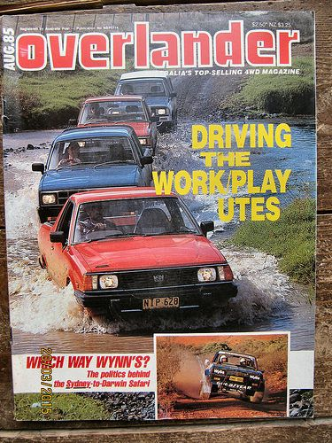 Overlander Magazine dated August 1985 | by Sholing Uteman