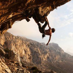 Climbing area of Kalymnos, the most famous spot in Greece!!