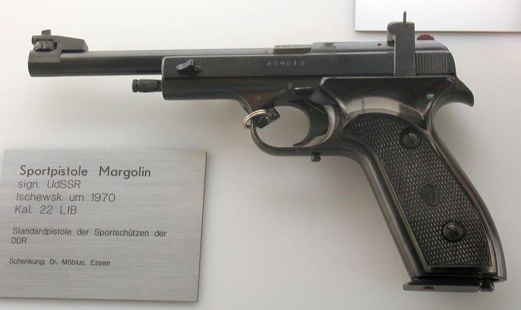 ".22 Sportpistole ""Margolin"""