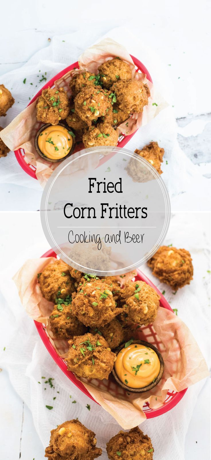 ... ingredients, you can have fried corn fritters in less than 30 minutes